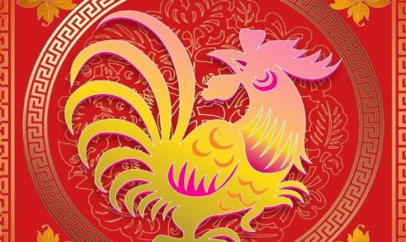 Showing the Chinese Zodiac Rooster