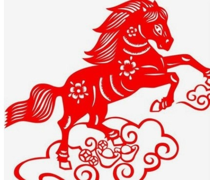 The horse red
